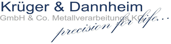Krüger & Dannheim GmbH & Co. Metallverarbeitung KG - Logo
